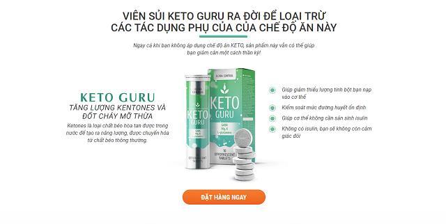 Những công dụng tuyệt vời mà Keto Guru mang lại cho người sử dụng