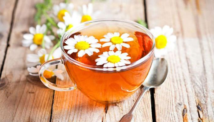 Cách trị đau đầu gối tại nhà bằng trà hoa cúc