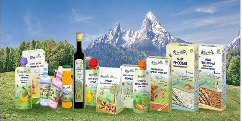 Bột ăn dặm Fleur Alpine có nhiều hương vị khác nhau