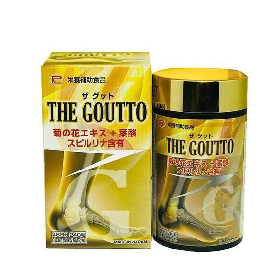 Viên uống The Goutto trị gout Nhật Bản