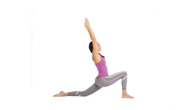 Bài tập yoga Low Lunge Crescent