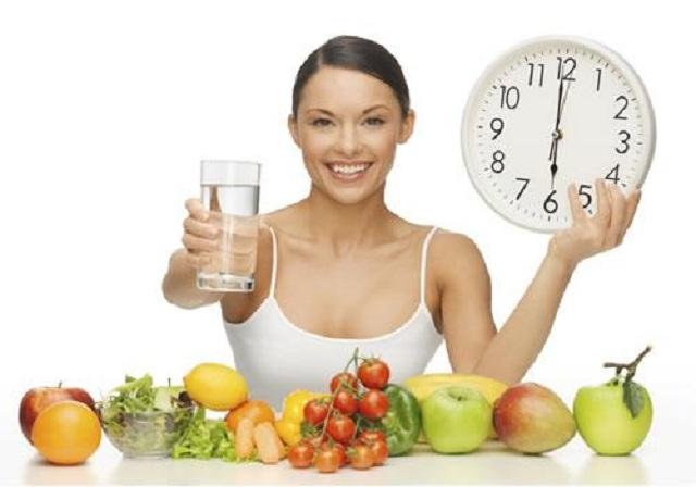 Chế độ ăn khi tập yoga giảm cân