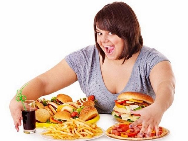 Do bạn không kiểm soát chế độ ăn uống của mình