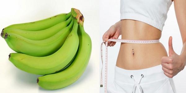 Cách giảm cân bằng chuối xanh