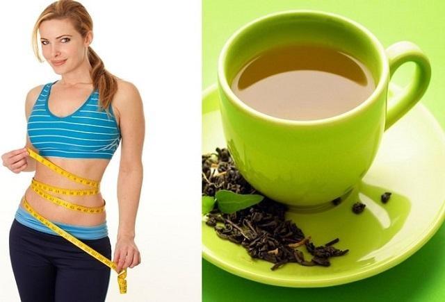 Kết hợp trà xanh và sữa để giảm cân