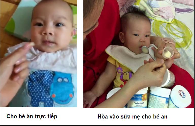 Kinh nghiệm sử dụng siro sambucol cho bé