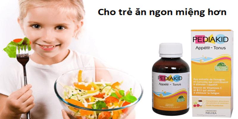 Thuốc tăng đề kháng Pediakid, kích thích ăn ngon ở trẻ