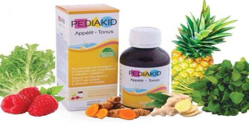 Thuốc tăng đề kháng Pediakid từ các dưỡng chất thiên nhiên