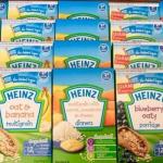 Bột ăn dặm Heinz có nhiều vị khác nhau