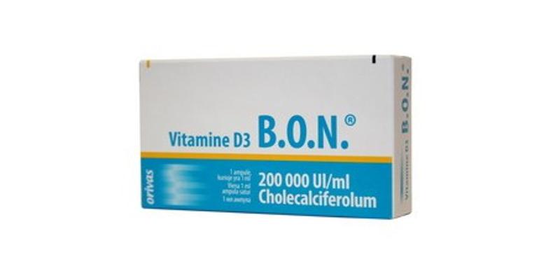 Công dụng Vitamin D3 Bon