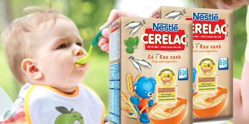 Lựa chọn bột ăn dặm cho bé 3 tháng tuổi hiệu quả
