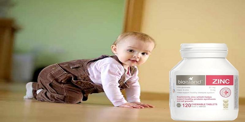 Viên uống bổ sung kẽm giúp bé phát triển khỏe mạnh