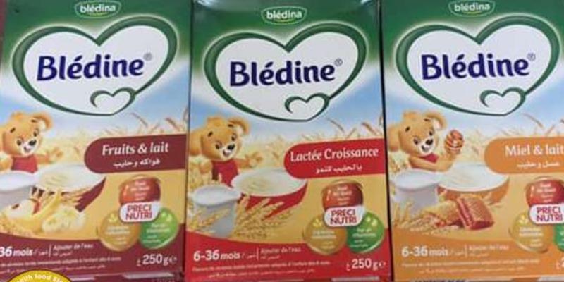 Bột ăn dặm Bledina có nhiều vị khác nhau