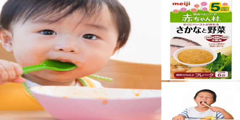 Bột ăn dặm Meiji lựa chọn sáng suốt của mẹ