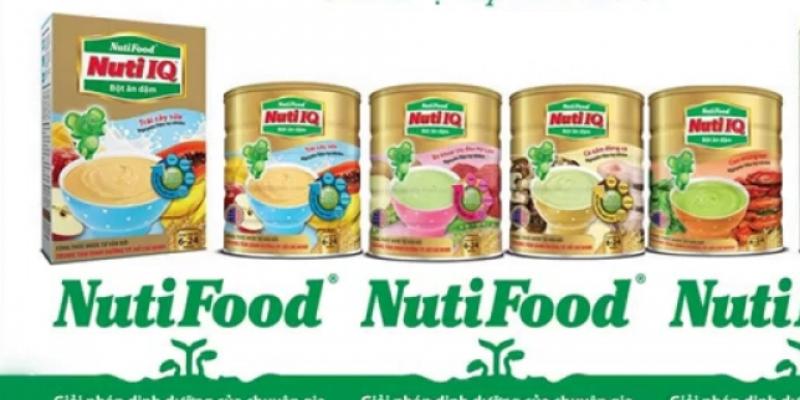 Bột ăn dặm Nutifood có nhiều mùi vị khác nhau