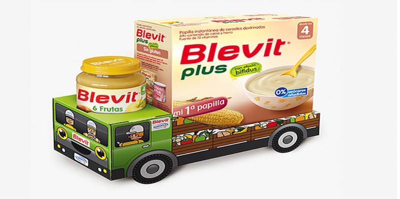 Sử dụng bột ăn dặm Blevit đơn giản dễ dàng.