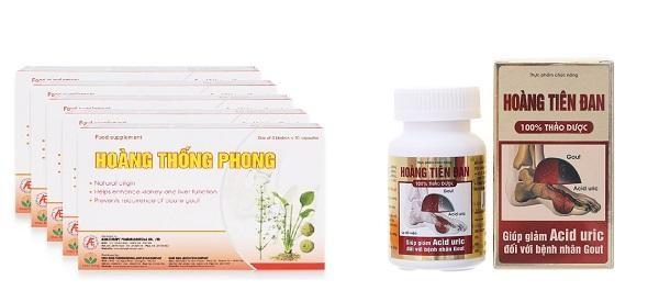 Hoàng Thống Phong có thành phần 100% thảo dược thiên nhiên