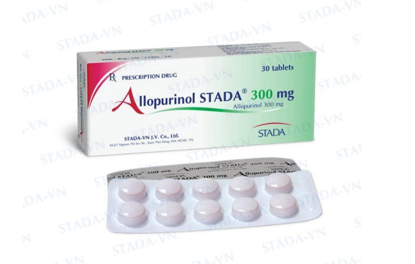 Thuốc Allopurinol Stada 300mg